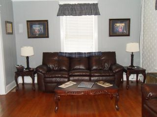 Gettysburg house photo - Enjoy the reclining couch & love seat after a full day of site seeing!