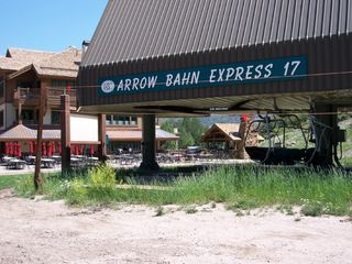 Arrowhead condo photo - Broken Arrow Cafe and Outdoor Grill (from Arrow Bahn Lift)