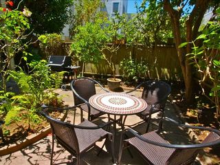 San Francisco apartment photo - Lovely patio in sunny garden