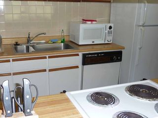 Humacao condo photo - Dishwasher, microwave - it's all there.