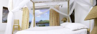 Master Bedroom No 2 open to private deck - Cap Estate villa vacation rental photo