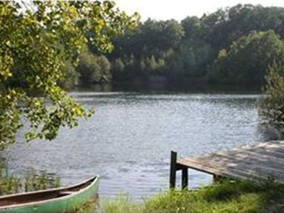 Guilford chateau / country house rental - Enjoy kayaking, swiming, and fishing in your own private lake!