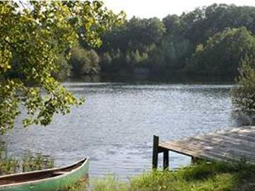 Enjoy kayaking, swiming, and fishing in your own private lake!
