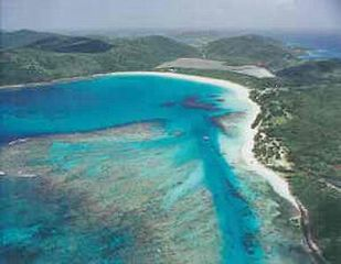 Culebra cottage photo - Flamenco Beach Air view