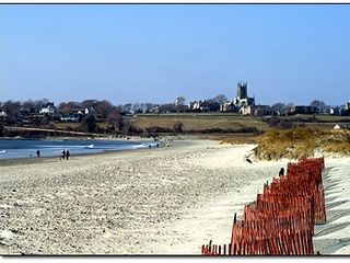 Newport house photo - Middletown's Sachuest Beach with St. George's spir