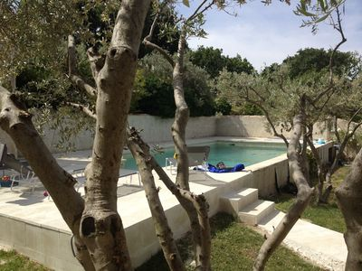villa in the Luberon private pool not overlooked everything on foot