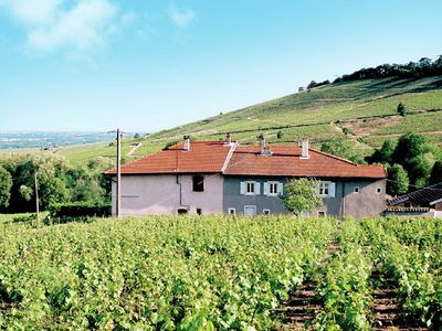 Nice house on own vineyard near Chénas in the Beaujolais