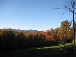 Andover house photo - View from the deck in fall