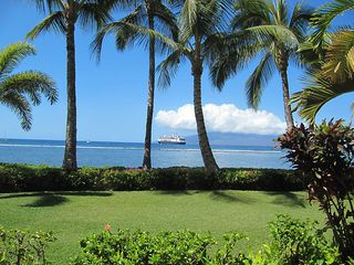 Lahaina condo photo - The view directly in front of your condo.
