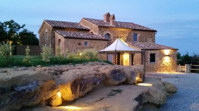 Charming Villa with private pool between Pienza and Montepulciano