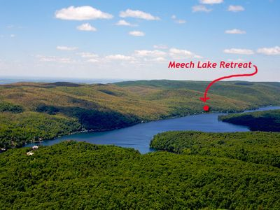 Here we are on Meech Lake