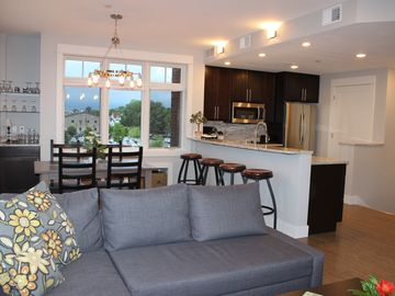 Grand Haven condo rental - Welcome to 22 Above! You'll enjoy the spacious open floor plan living area.