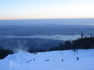 Vancouver apartment photo - Skiing at Grouse Mountain from December to April, 10 minutes away