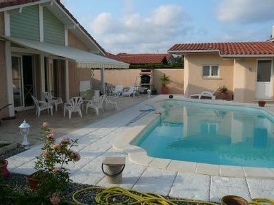 comfortable villa with private pool, residential area