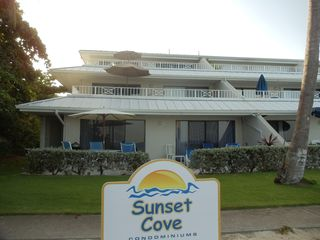 Grand Cayman condo photo - Top end beachfront unit at Sunset Cove.