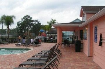 Pool, Hot Tub and Clubhouse area