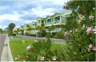 Tampa townhome photo - View of street & our town houses at Bahia Beach