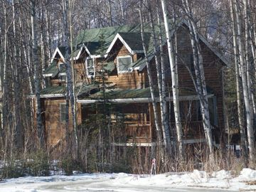 Wasilla house rental - Street View early spring