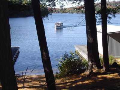 Lake Joseph cottage rental - View of Rest Harbour Bay, Lake Rosseau