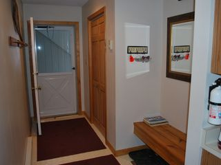 North Conway condo photo - Nice big closest at entrance with a bench to sit on while taking shoes off..