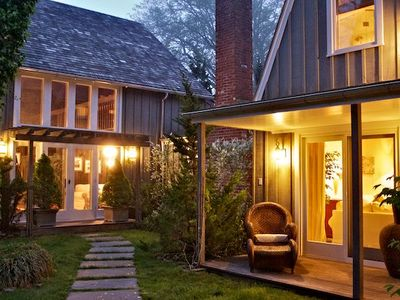 East Hampton house rental - Come Home to the Graybarn Cottage by the award-winning Mill House Inn.