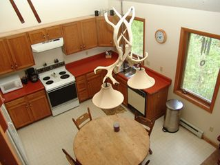 Breckenridge townhome photo - The Kitchen from Above