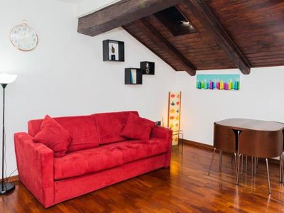 Romantic attic in the heart of Turin in Piazza Vittorio, private parking and free use of bicycles