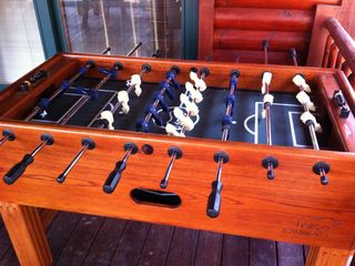 Solid Oak Foosball Table