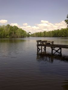 Springfield house rental - Lake Maurepas is only 7 miles away by boat