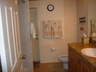 Cape Coral house photo - second bath opens to the pool combo tub/shower