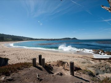 Carmel cottage rental - View of Point Lobos from property