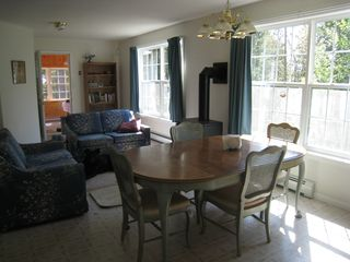 Alexander house photo - Dining room/living room looking towards sunporch.
