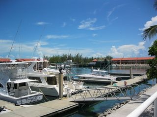 Located right on the marina, dock your boat below or enjoy all the action - Bimini condo vacation rental photo