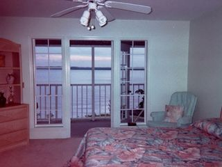 Port Charlotte condo photo - Master bedroom view, you can hear the fish jumping!