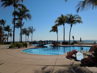Mazatlan condo photo - pool directly off patio