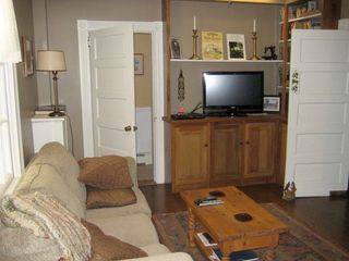 Middleburg house photo - Private den with pull out couch and 1/2 bath