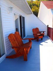 Camdenton condo photo - Enjoy the spacious deck relaxing.