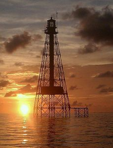 Sombrero Lighthouse, Just Offshore