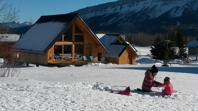 Charming chalet in 4 * family resort