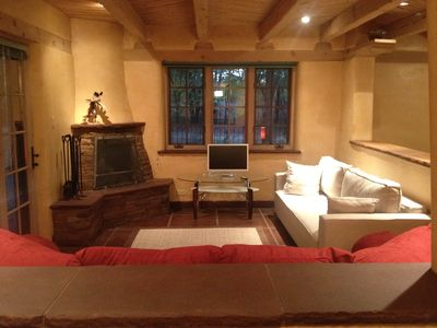 Corrales house rental - Living Room