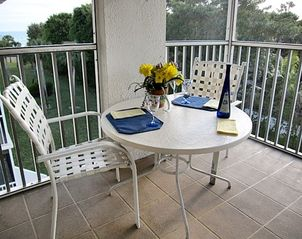 Sanibel Island condo photo - Plenty of room to relax on your screened Lanai