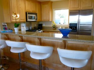 Pacific Grove condo photo - Kitchen and Bar Area