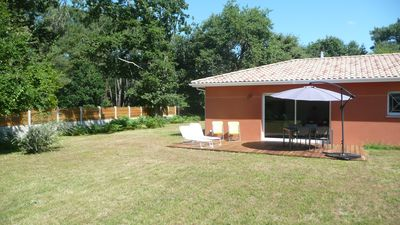 Bright house near forest, beaches and Arcachon, ranked 3 *