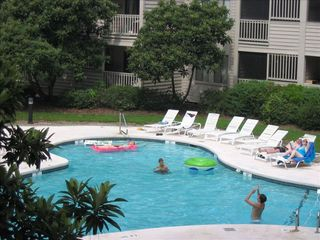 Port Royal villa photo - One of two outdoor pools.