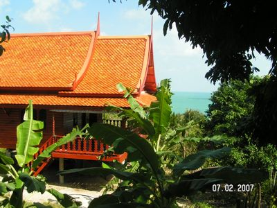 Ko Phangan house rental - Baan Lom