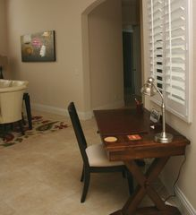 Briarwood Naples house photo - desk space area in this vacation rental home