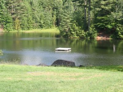 Swimming pond at club house