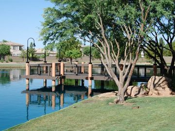 Gilbert house rental - Wonderful walking paths, pools and even a fishing hole!