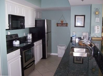 Kitchen with Granite Countertops and Brand New Appliances