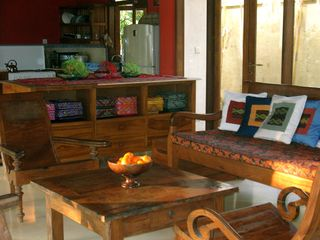 Sanur house photo - View of sitting area; sofa, rocking chair and two arm chairs